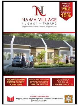Nawa village pleret rumah murah strategis