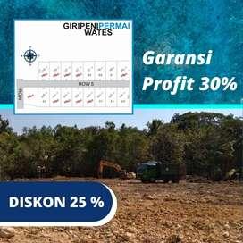 Inves Tanah Kapling SHM-P Kawasan Jogja Barat, DISKON 25%