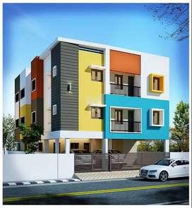 2 Bhk Flats @ Nanmangalalm