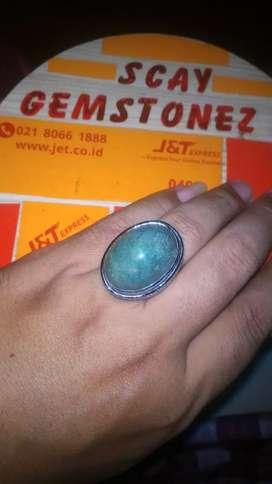 Natural cincin batu akik garutan big size mumbul