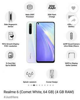 Realme 6 only 4 months old