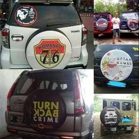 Cover/Sarung Ban tutup CRV/Rush/Terios Xtrazz Feroza panther no Andala