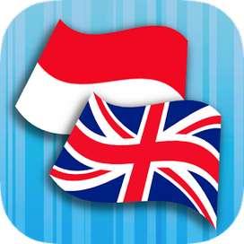 Guru privat bahasa Inggris dan Indonesia