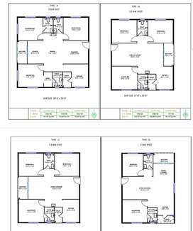 2 &3 BHK Flats for sale - Spacious Floor Plans