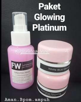 Paket glowing platinum