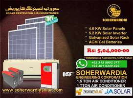 Solar System for Air Conditioner.