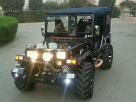 Full modified jeep ready to order basis