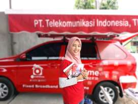 Indihome Fiber JABODETABEK, internet unlimited, telpon, tv kabel