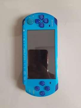 SONY PSP 3000 BIRU MULUS