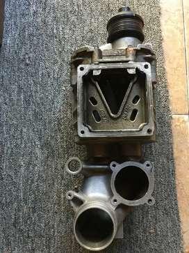 Supercharger mercedes benz W211