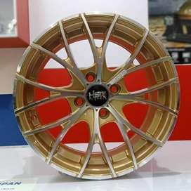 Velg Mobil Agya dll Ring 15 HSR Wheel NAPLES Gold MF