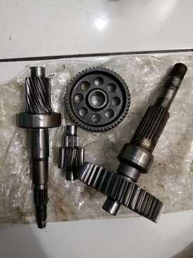 Gearbox vario 125