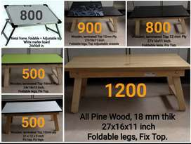 Study laptop tables manufacturer and wooden board stands