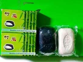 Sabun Arang Bambu & Sabun Cuka Bambu Flier Per Set