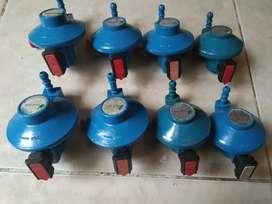 Dijual regulator bluegas kondisi 80-85%
