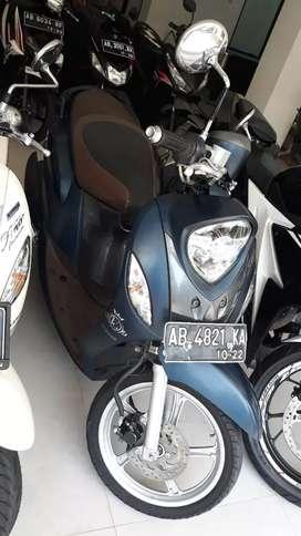 Yamaha fino 2017 plat Ab Kota