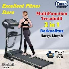 treadmill elektrik twen TM-280 electric treadmil alat fitnes