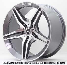 jualan SL63 AM5009 HSR R19X85/95 H5X112 ET35 GMF
