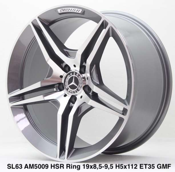 jualan SL63 AM5009 HSR R19X85/95 H5X112 ET35 GMF 0