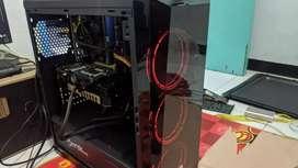 """CPU Rakitan + Monitor LG 22"""""""