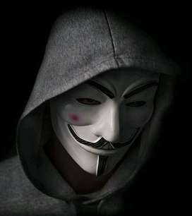 Topeng Anonymous Fawkes Vandetta