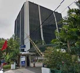 Kantor 175m2   Disewakan Tifa Building, Kuningan Barat, Gatot Subroto