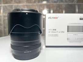 Dijual lensa Viltrox 33mm f1.4 for fujifilm apsc mulus