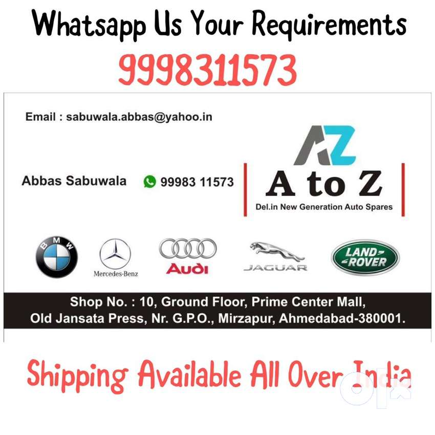 A to Z Auto Parts Ahmedabad 0