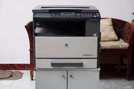 Mesin Fotocopy Foto Copy Konica Minolta Gress BU