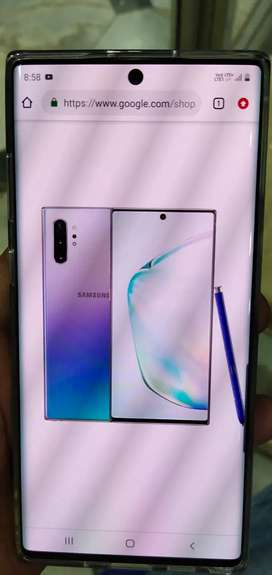SAMSUNG NOTE 10PLUS  BRAND NEW 7 MONTH OLD