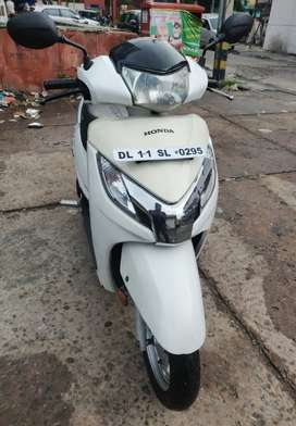 Well maintained scooty