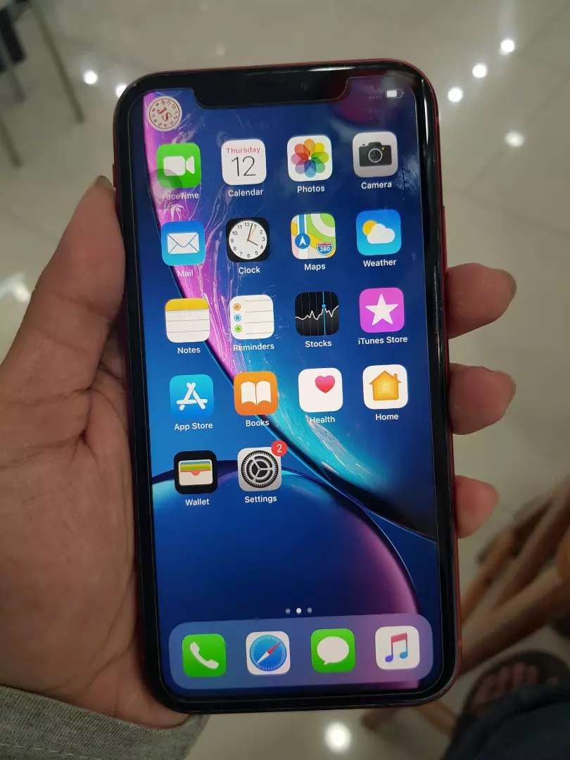 Iphone XR 256gb red like new 0