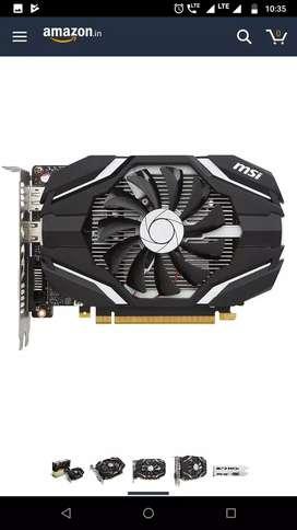 MSI 1050Ti OC Graphics Card