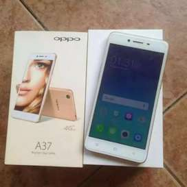 Oppo A37 10/09 only glass break ha condion ok with box