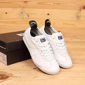 Onitsuka tiger mexico 66 deluxe original sheep leather white