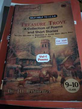 Guide treasure trove a collection of poems & short story class10 icse