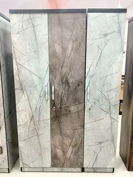 sell sell sell fantastic marble finish 3 door wardrobe from factory
