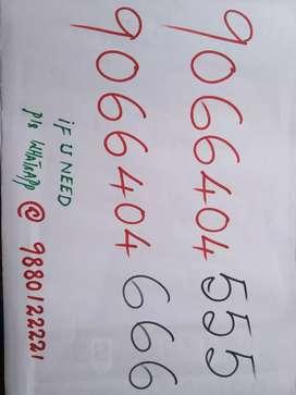 Fancy prepaid Mobile number
