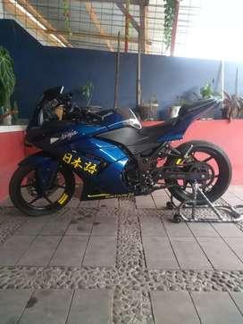 Ninja 250 carbu (mulus rumahan)