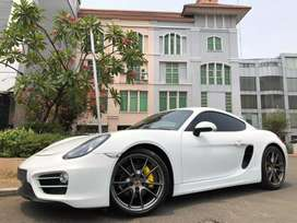 Cayman 2.7 PDK 981 Coupe 2014 White On Grey ATPM Full Option Km6000!!
