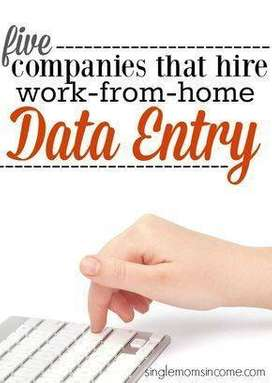 Earn daily Rs 1000/ - Data Entry/ Simple Typing / Form Filling jobs