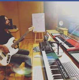 Guitar classes and Audio Engineering Classes