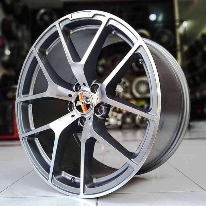 jual velg racing R19 bagus untuk mobil mercedes cl 0