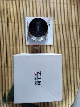 Lensa 7Artisans 25mm f1.8 Sony Mulus
