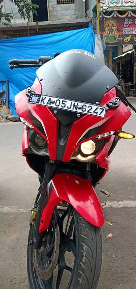 Pulsar rs 200 red addition
