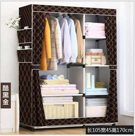 Strong Folding Wardrobe For Clothes Made with 25mm Pipes