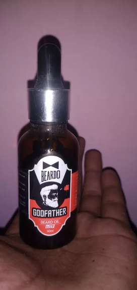 Beard oil for hair shining and growth