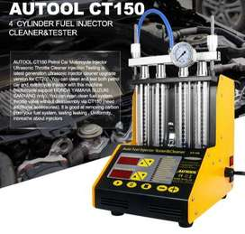 AUTOOL INJECTOR ULTRA SONIC CLEANING MACHINE OBD2 CAR SCANNER LAUNCH