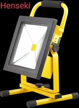 Lampu Sorot Emergency LED 20 watt, Lampu Emergency LED merk Henseki