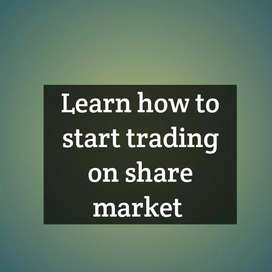 Trading on share market